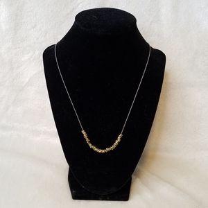 Silpada Sterling Silver Brass Necklace N3234